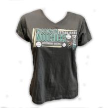 Ladies Grey Woodchucks T-Shirt